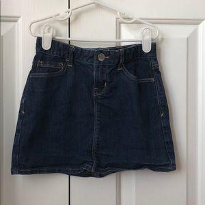 Girls Gap Denim Skirt